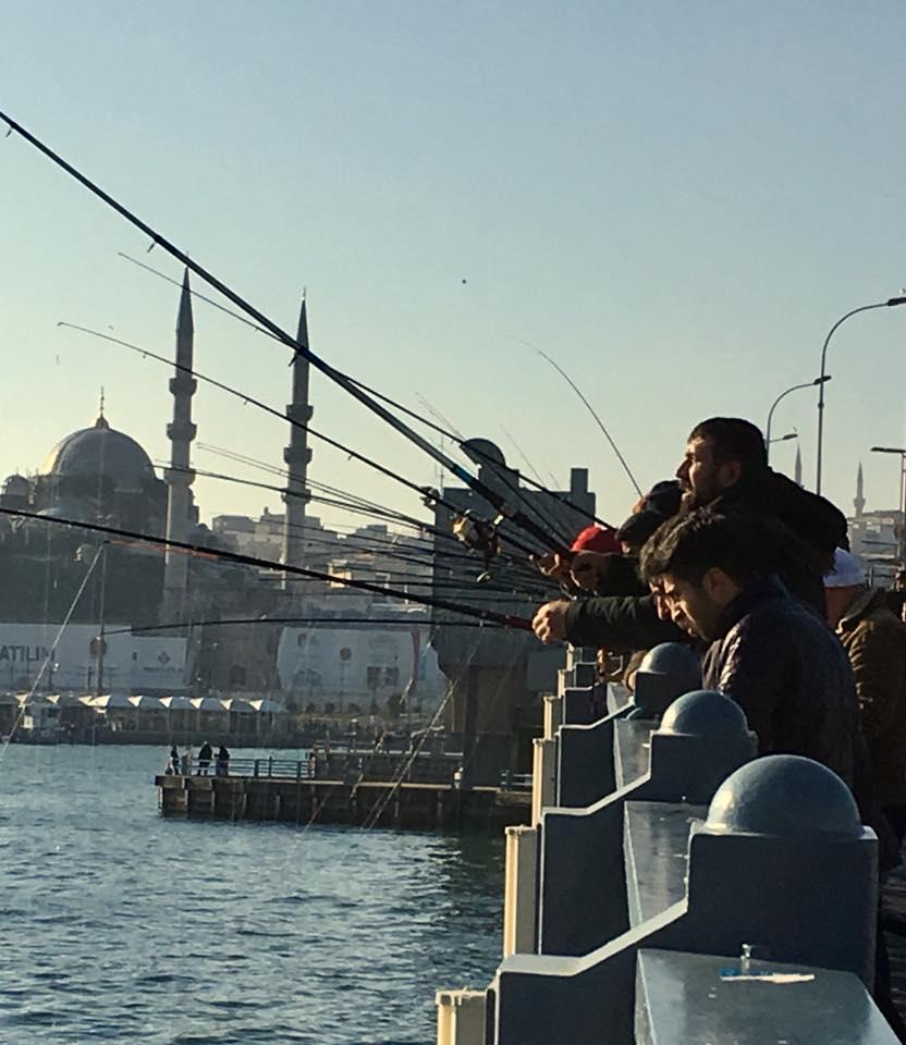 Galata bridge, Turkey, Istanbul