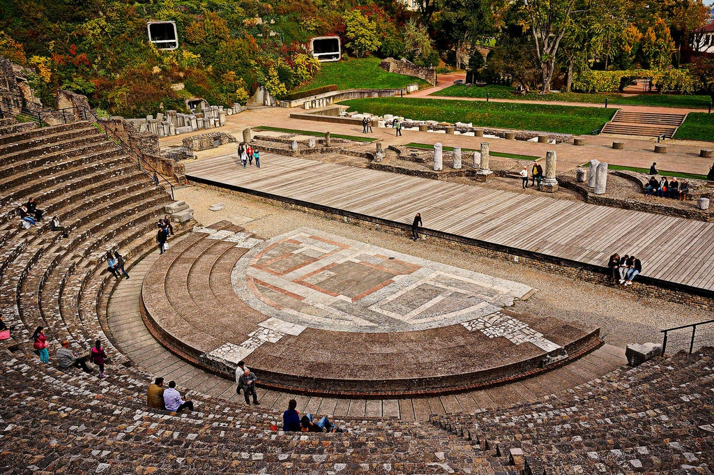 things to do in lyon, Ancient theatre of Fourvière