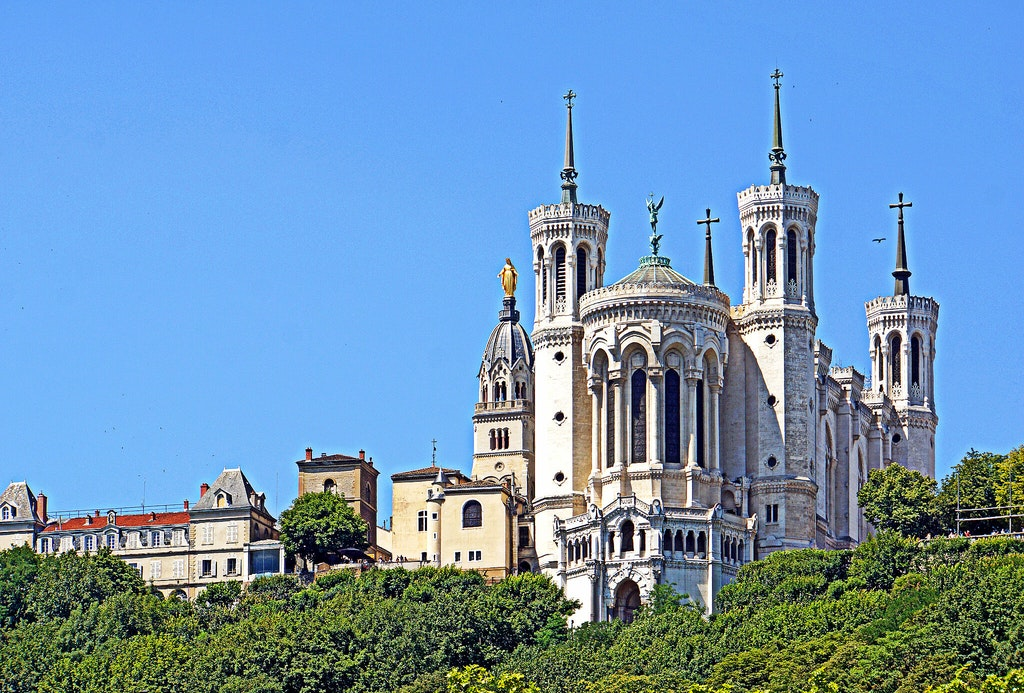 things to do in lyon, Basilica of Notre-Dame de Fourvière