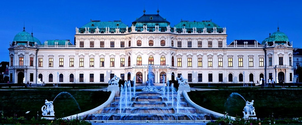 things to do in austria, belvedere