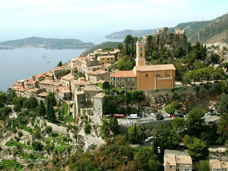 hotels in france, chateau eze