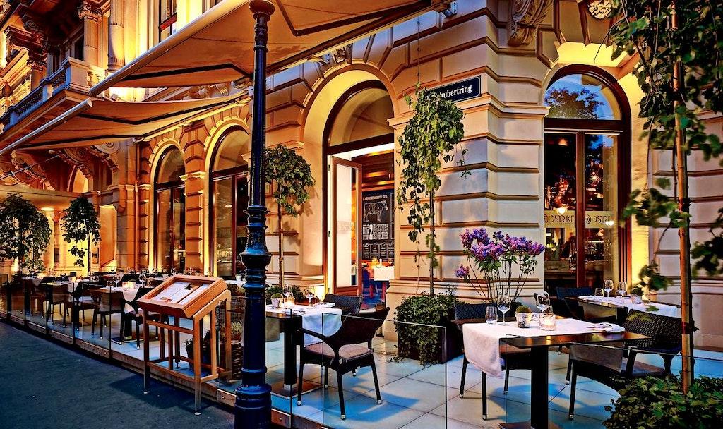 restaurants in austria, Dstrikt
