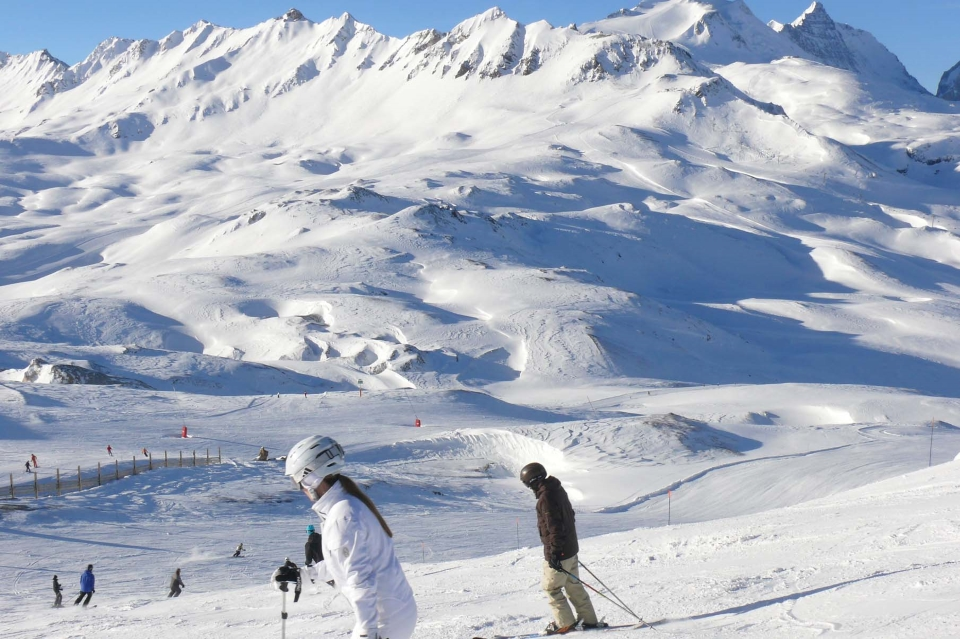 Skiing at Val d'Isere