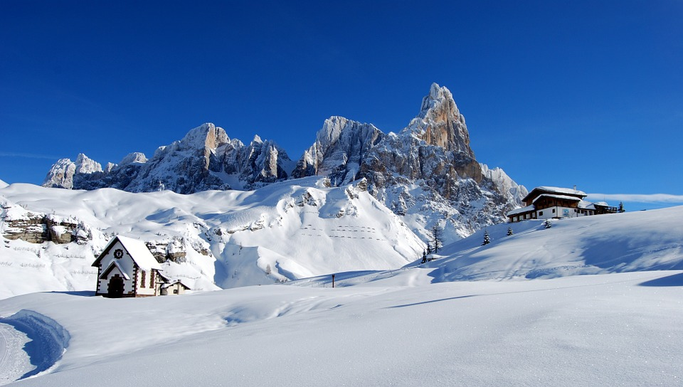 Dolomite,adventure places to visit in Italy