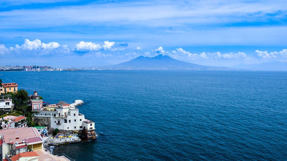 Naples, destinations in Italy