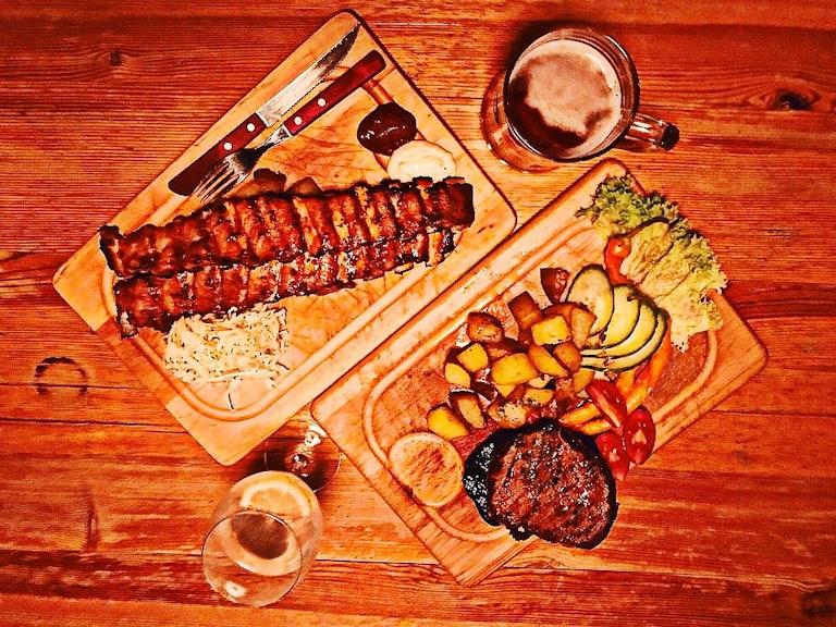 restaurants in austria, ribs of vienna