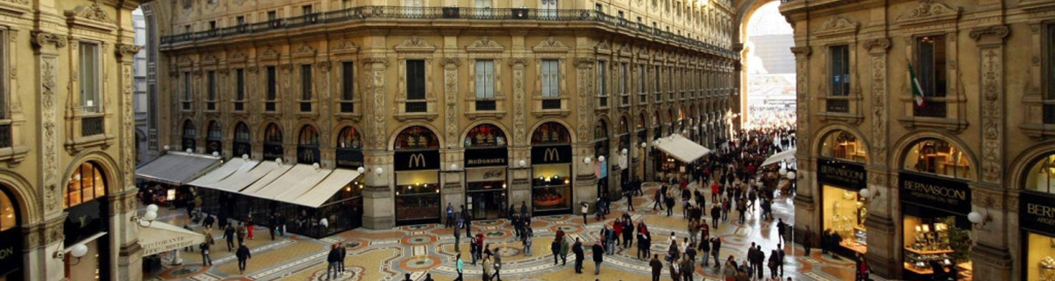 where to shop in Italy