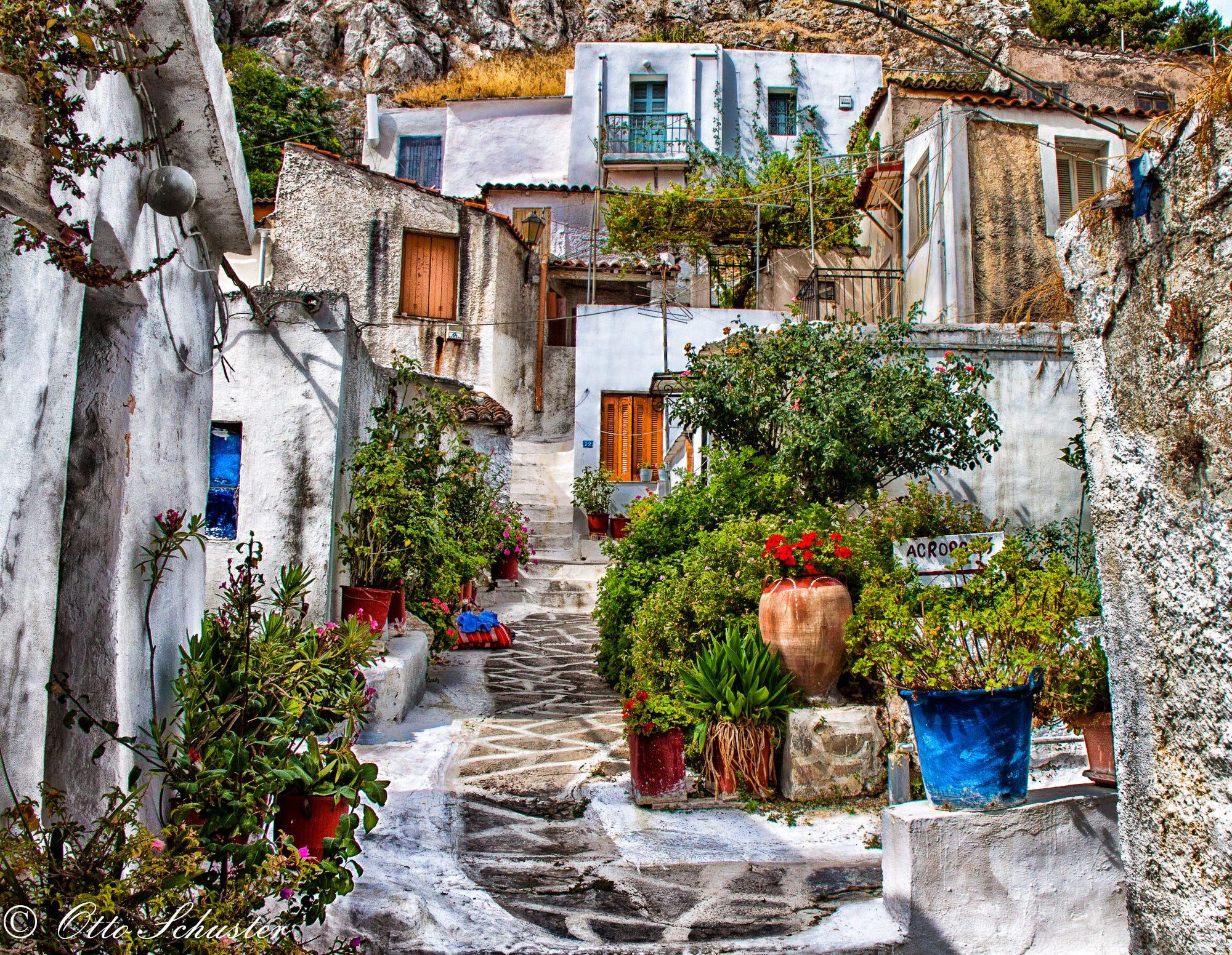 Anafiotika Village,offbeat things to do in Athens