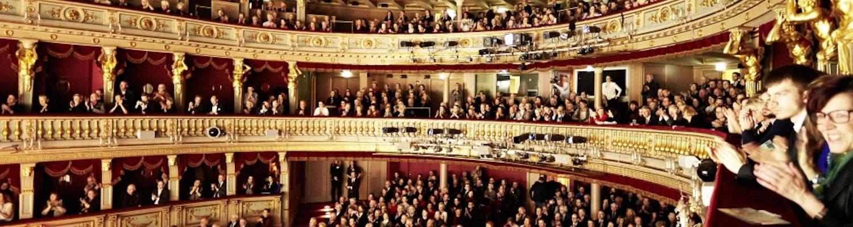 At a Strauss & Mozart concert in Vienna Opera House
