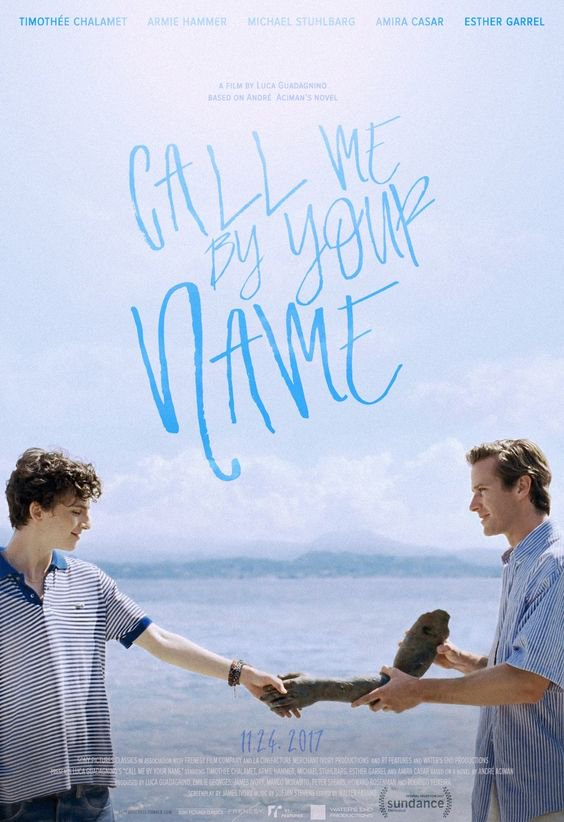 call me by your name, Oscar nominated movies