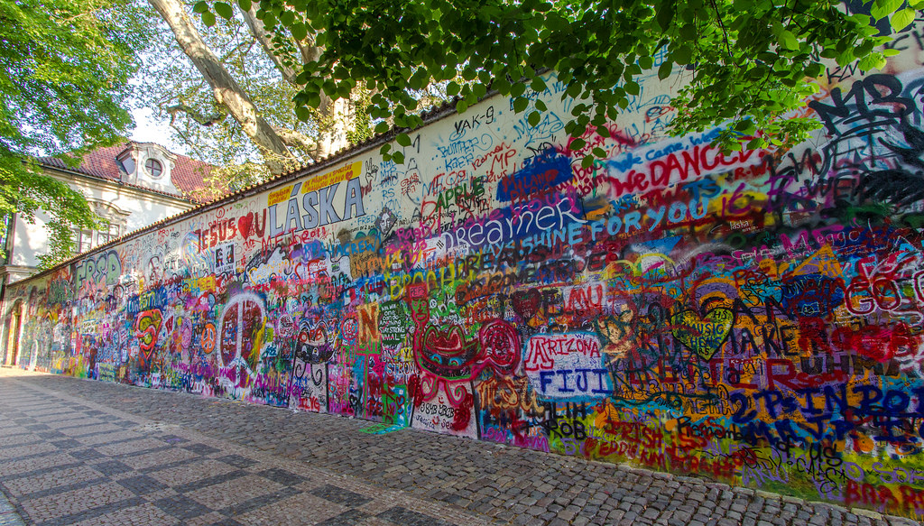 Lennon Wall,things to do in Prague