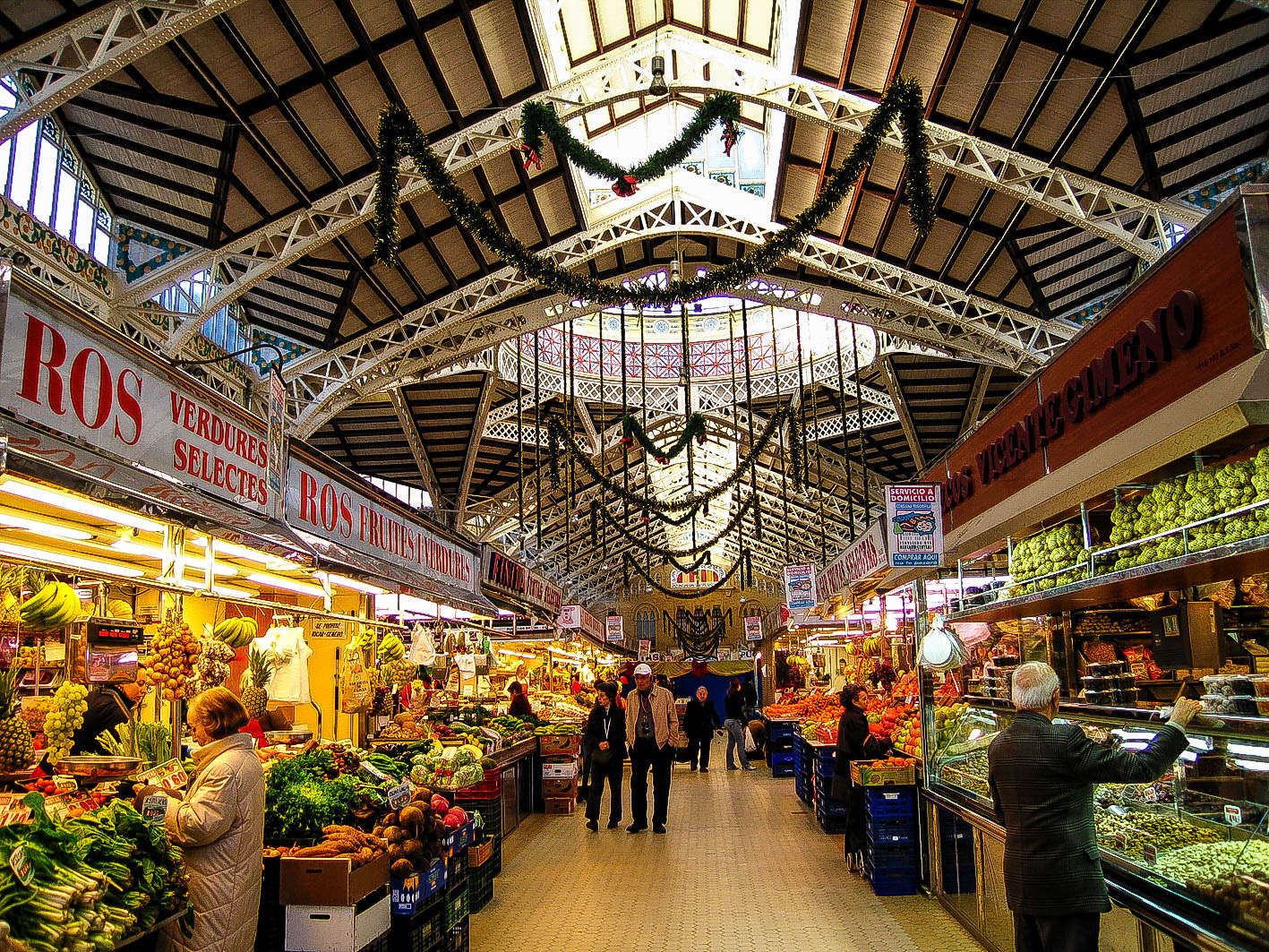Mercado Central,places to shop in Spain