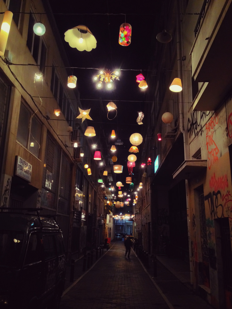 Pittaki Street,offbeat things to do in Athens