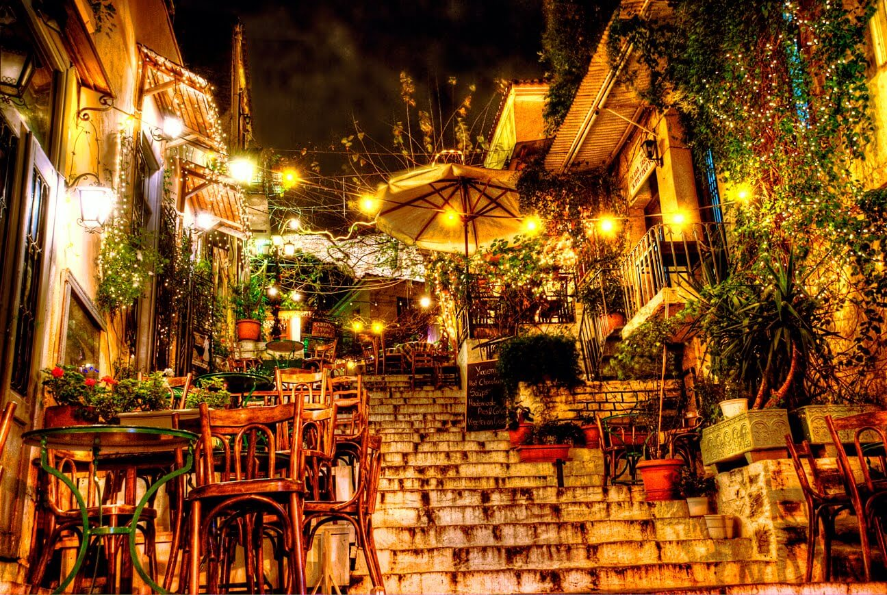 Plaka's Stairs,offbeat things to do in Athens