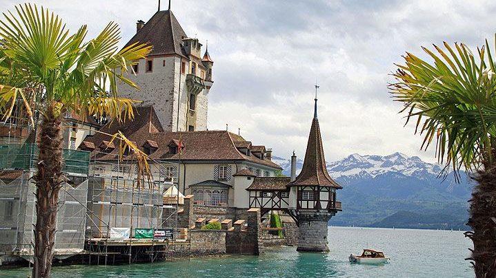 Oberhofen Castle ,Top things to do in Interlaken for a happy trip!