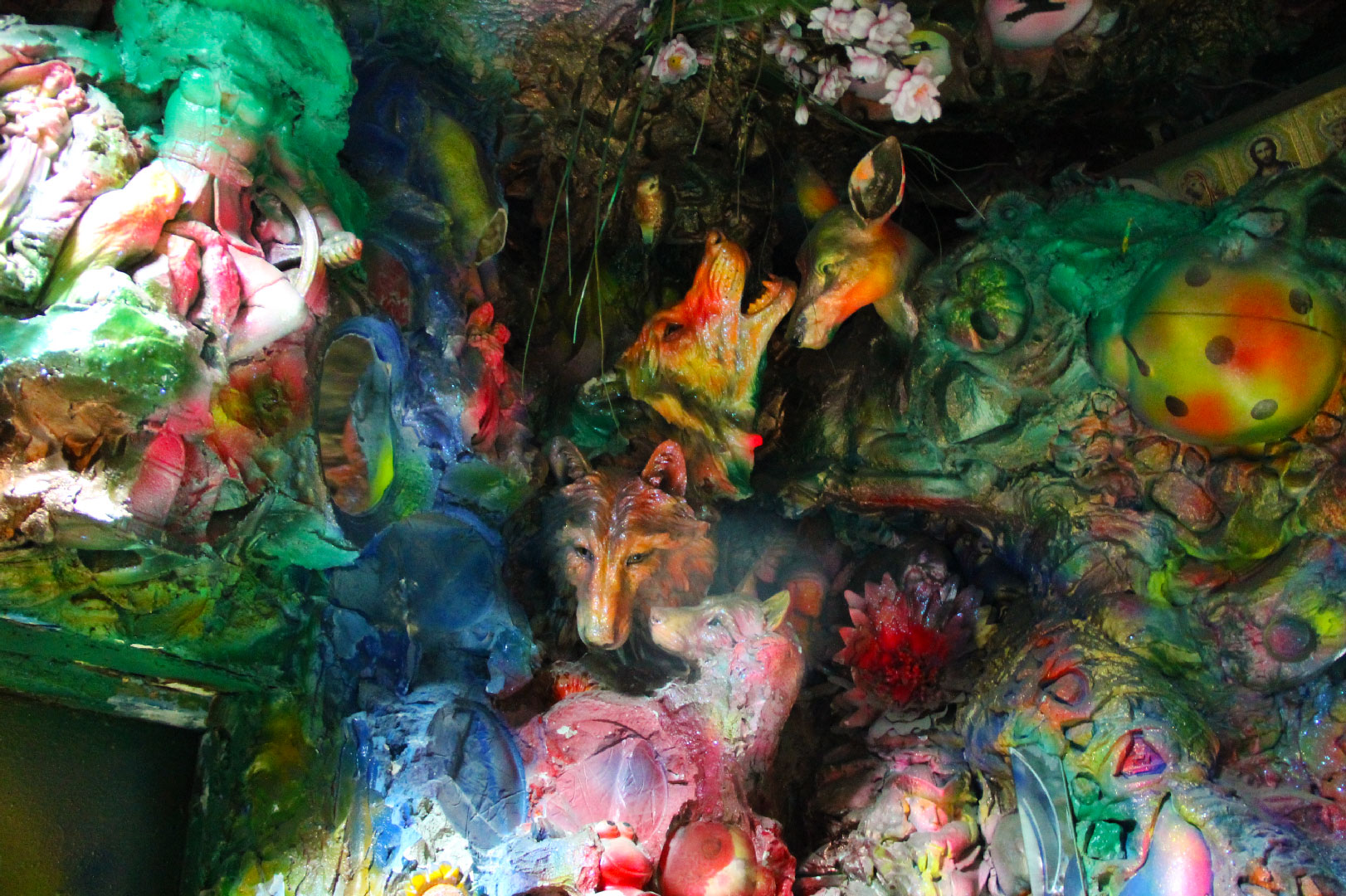 Tatiana Pick's Psychedelic Hallway,places to visit in Kiev