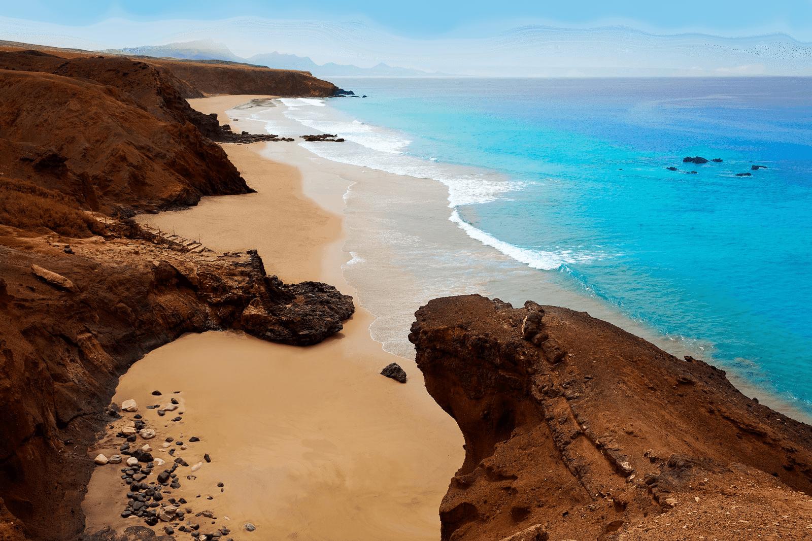 Fuerteventura,beaches in Spain