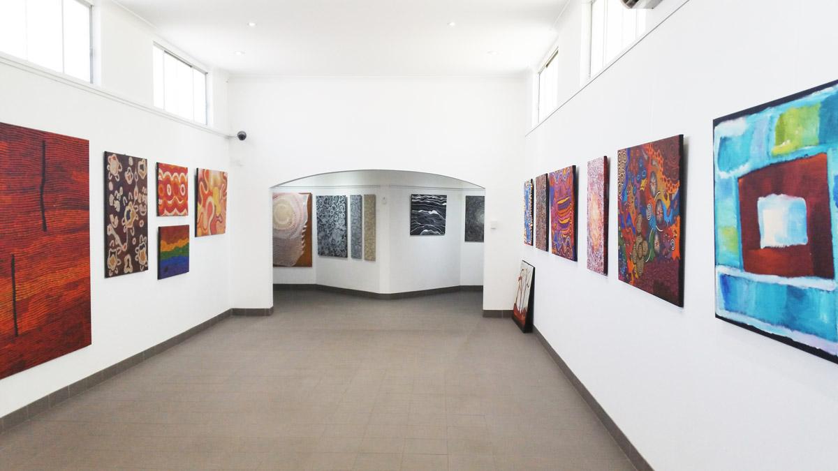 Yubu Napa Art Gallery,Australia travel