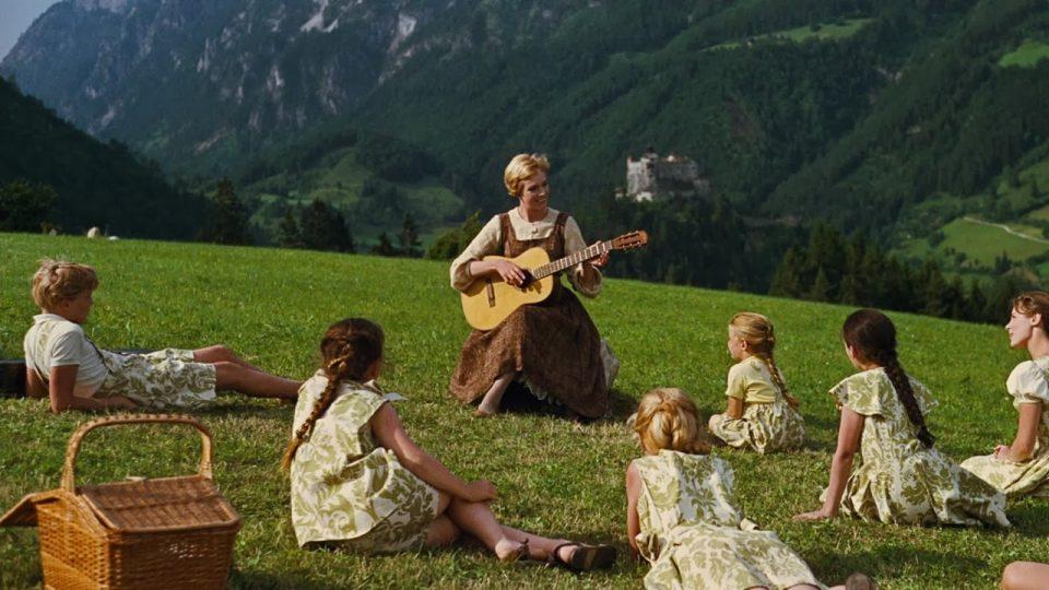 von Trapp kids in Sound of Music