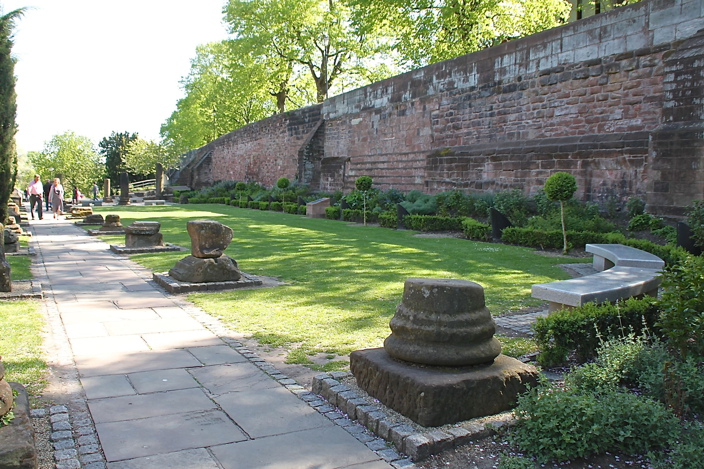 Chester Roman Garden,Top free things to do in the UK
