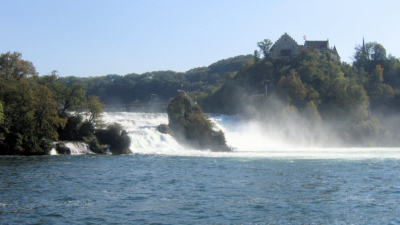The Rhine falls,free things to do with a Swiss Pass