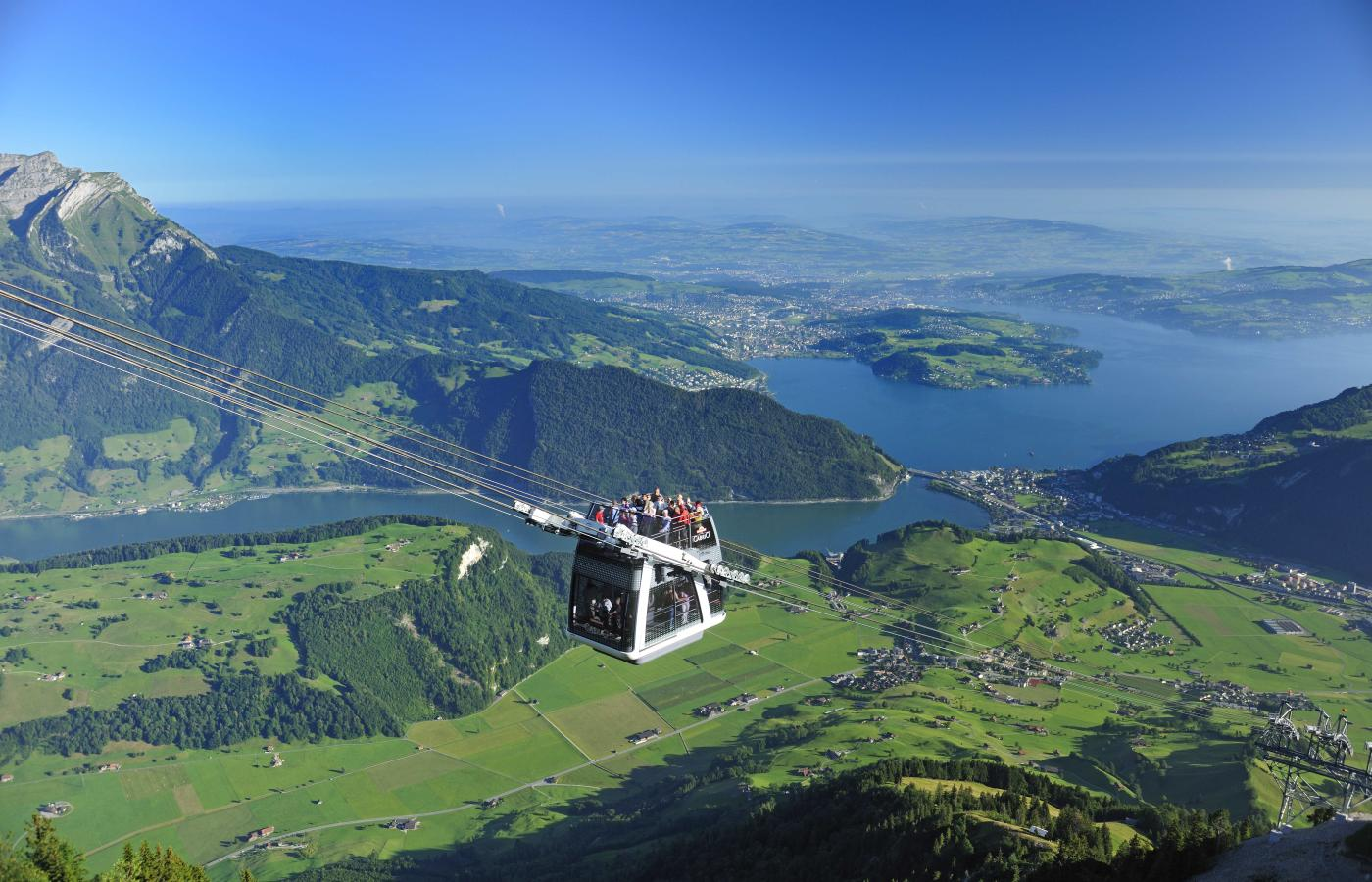 cable car ride,free things to do with a Swiss Pass