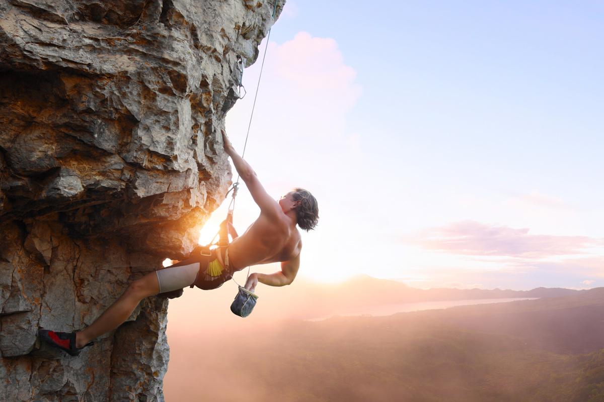Rockclimbing,best adventurous activities in the UK