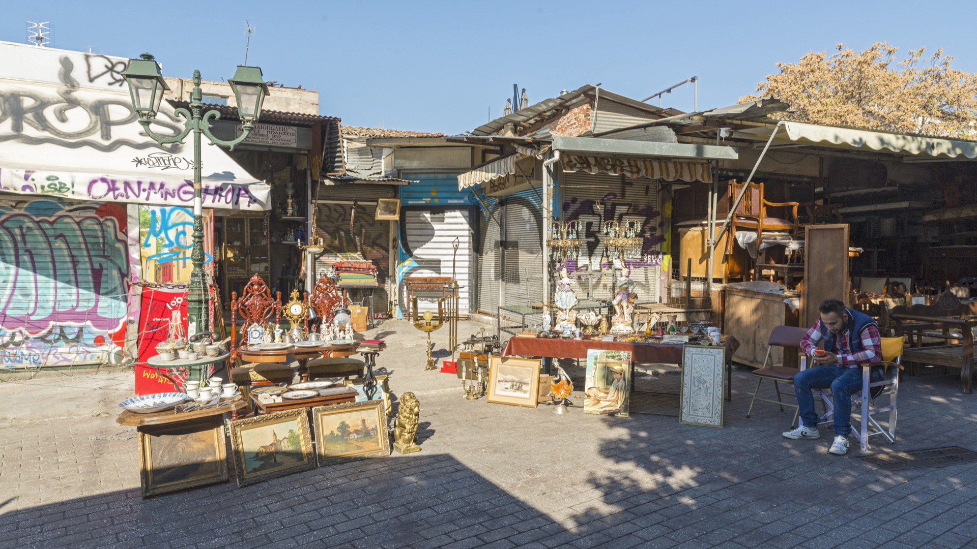 Abysinia Square,places to shop in Greece