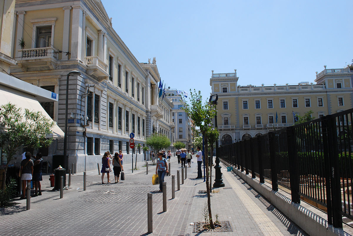Aeolou and Agios Markos Streets,places to shop in Greece