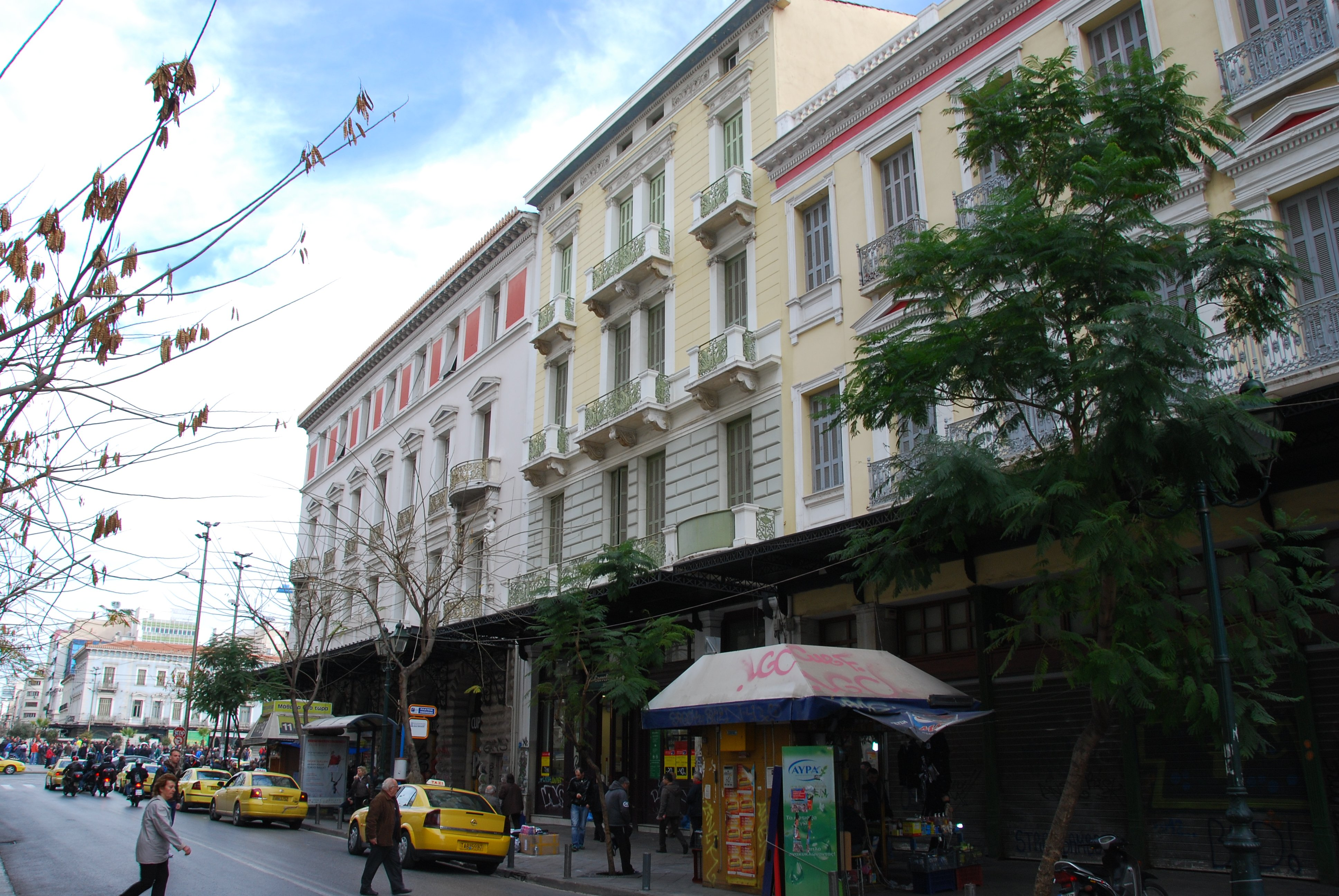 Athinas Street,places to shop in Greece