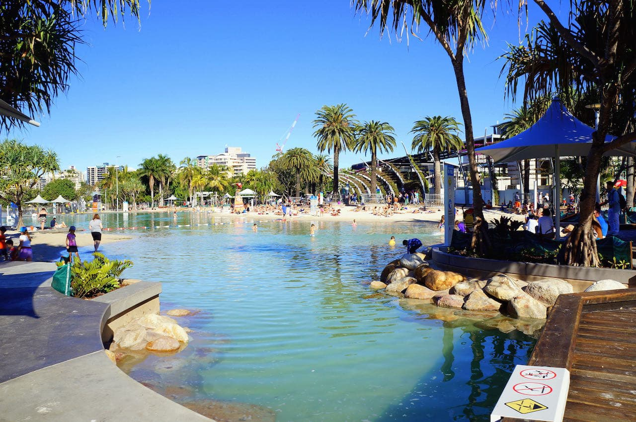 South Bank's Streets Beach ,things to do in Australia