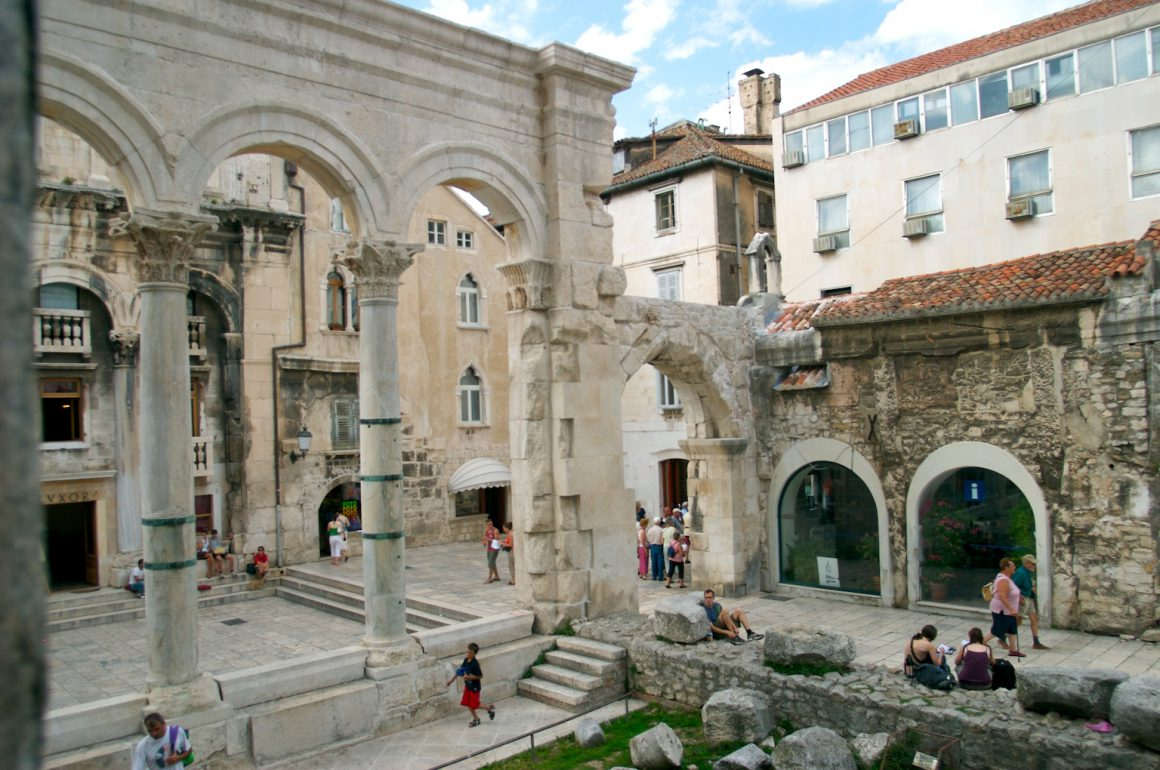 Diocletian's Palace,things to do in Croatia