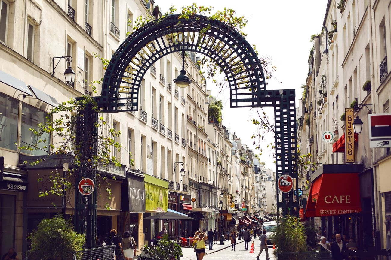 Rue Montorgueil,things not to do in Paris