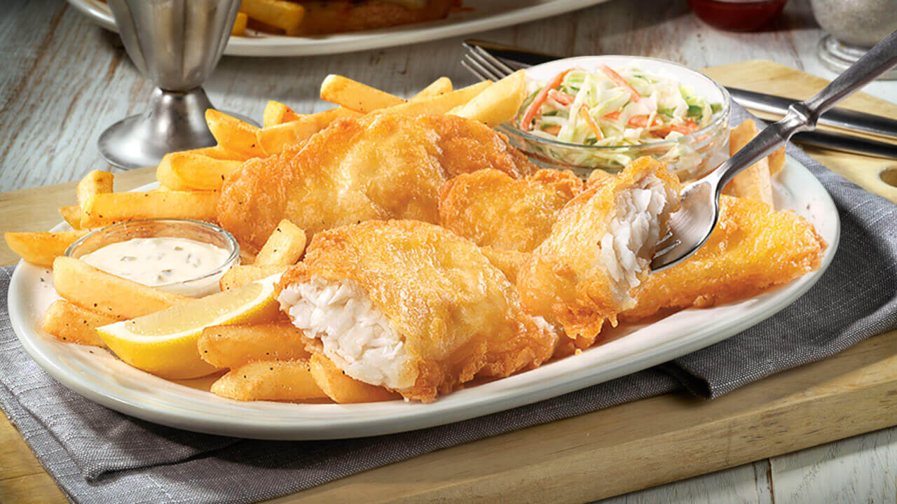 Fish and chips by the beach,must eats in Australia