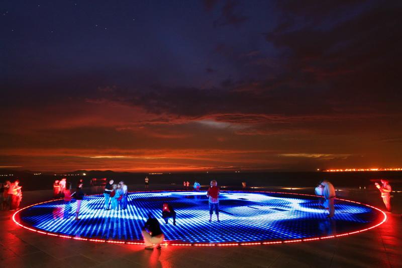 Sun Salutation at Zadar,things to do in Croatia