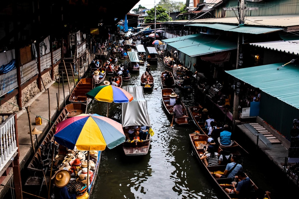 Pattaya Floating Market, Best Places to Shop in Thailand