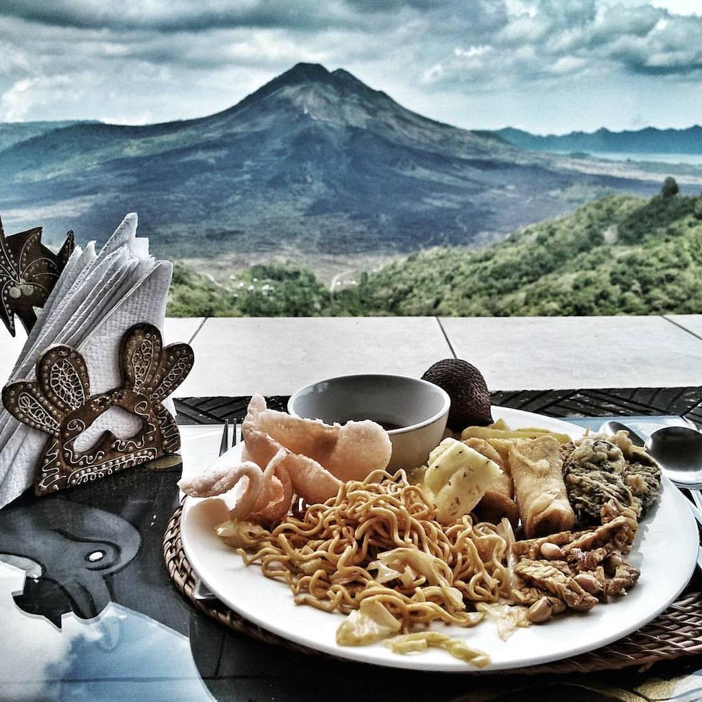 Lunch in Mount Batur