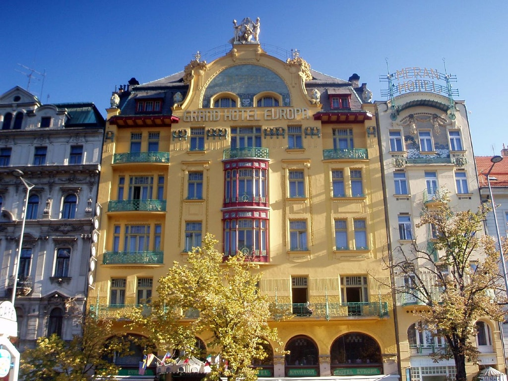 Grand Evropa Hotel Cafe