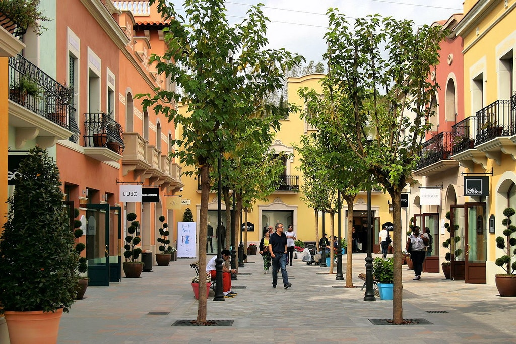madrid shopping complex