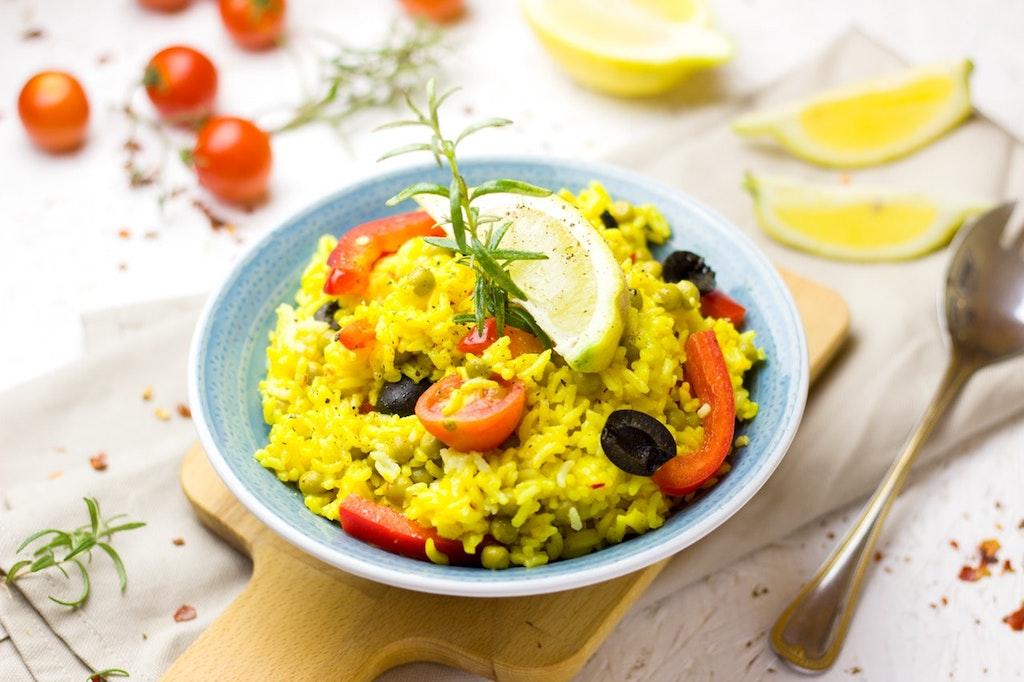 Paella_madrid food