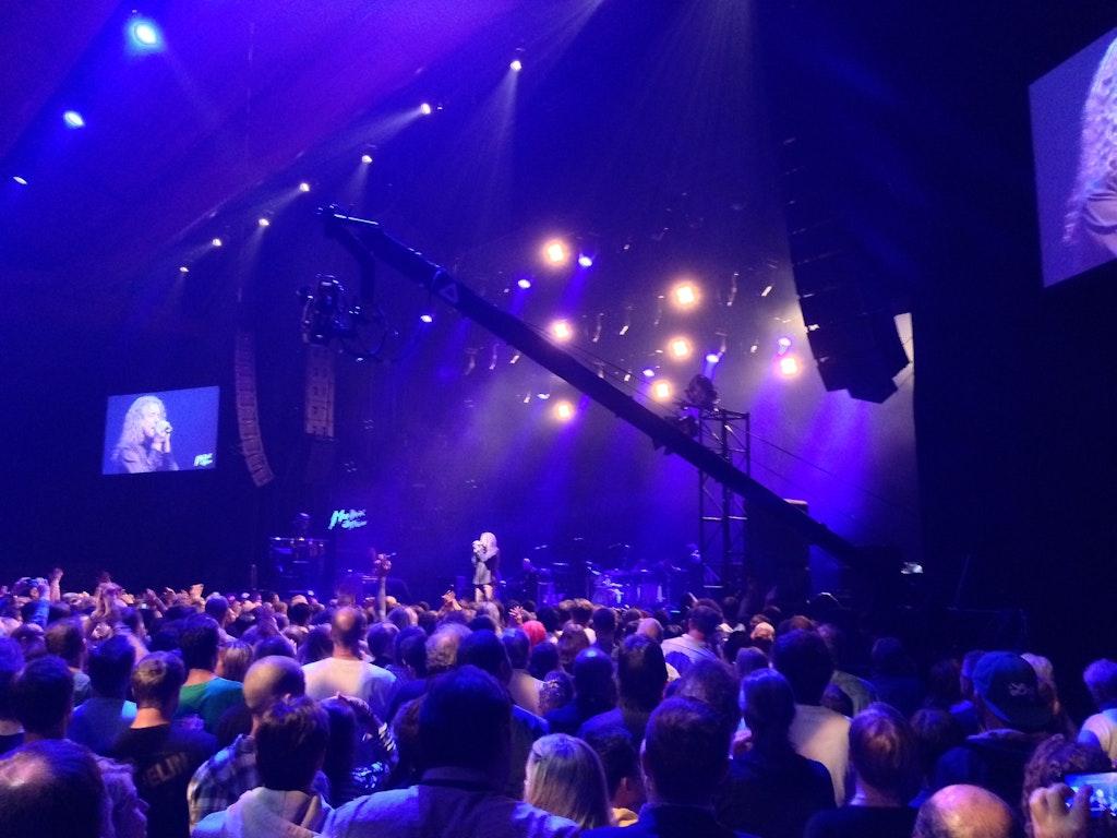 Robert Plant at Montreux Music Festival