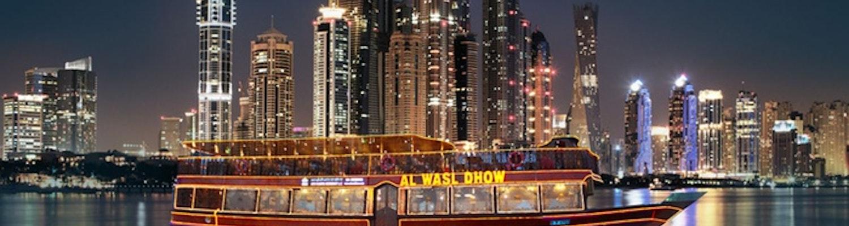 Dubai dinner cruise
