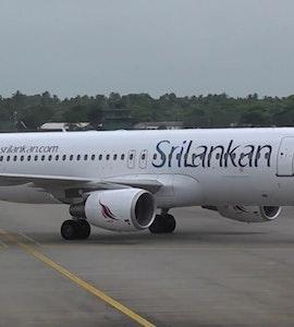 Sri Lankan Airlines flight