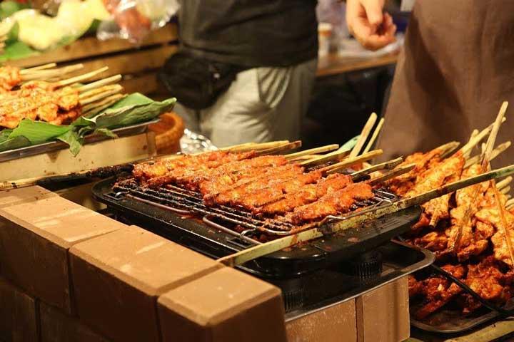 food street thailand, Romantic Honeymoon Destinations in Thailand