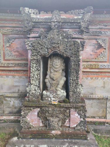 Bali Brahma temple Batuan temple Bali one mile at a time