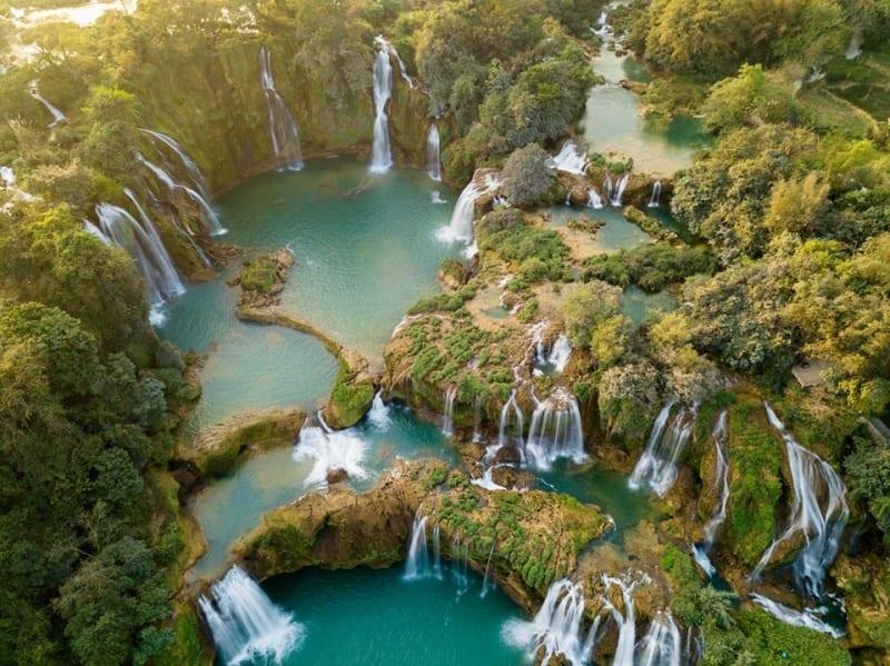 Ban Gioc waterfalls-things to do in cao bang