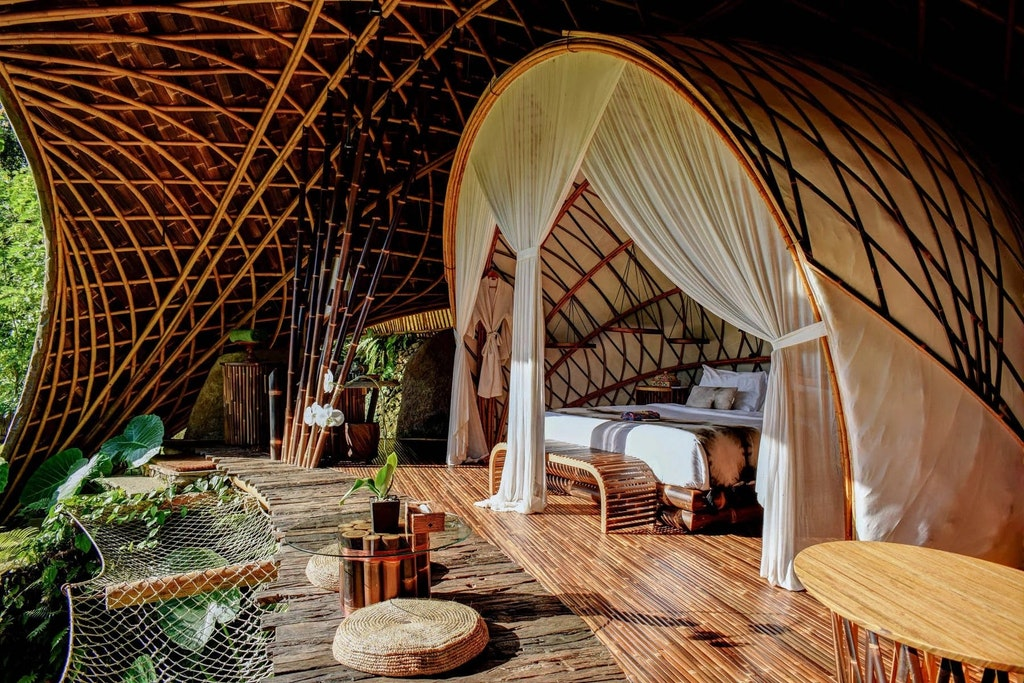 Bambu Indah, Unusual & Unique Places to Stay in Bali