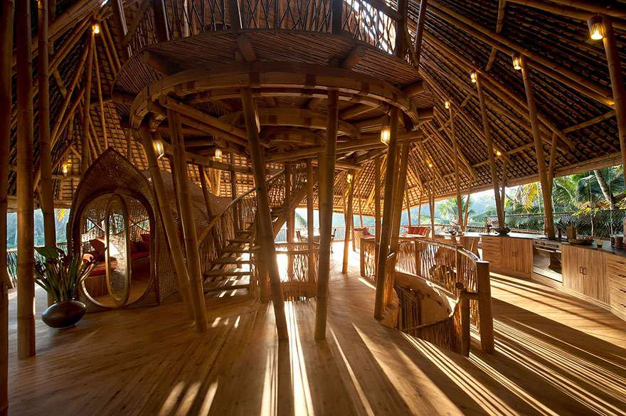 Sharma Springs Bamboo House, Unusual & Unique Places to Stay in Bali