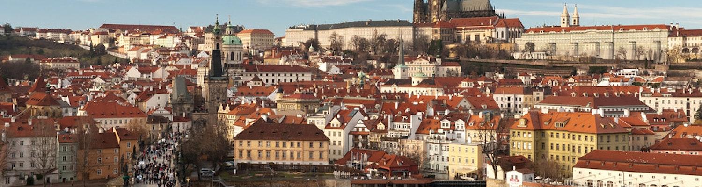 Prague in Central Europe
