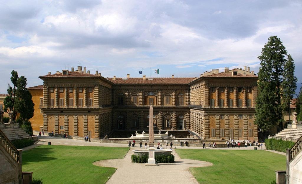 Palazzo Pitti front view